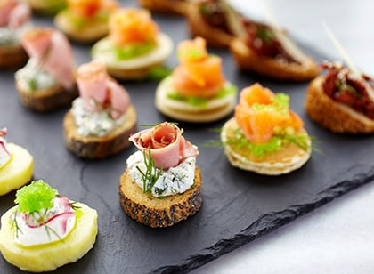 canape menu thumb - Corporate Catering